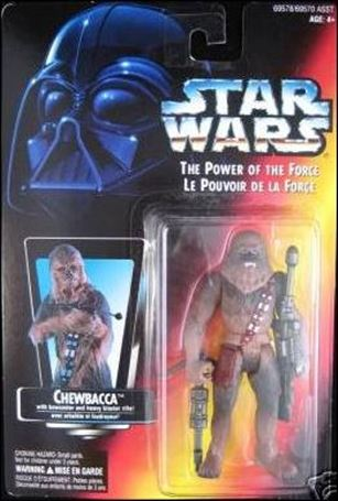 "Star Wars: The Power of the Force 2 3 3/4"" Basic Action Figures Chewbacca (Canadian)"