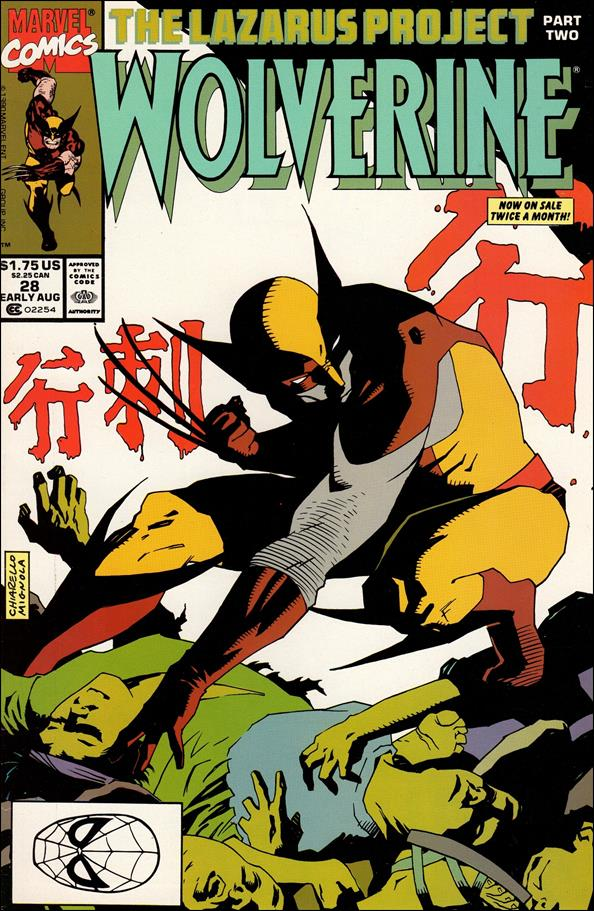 Wolverine (1988)  28-A by Marvel