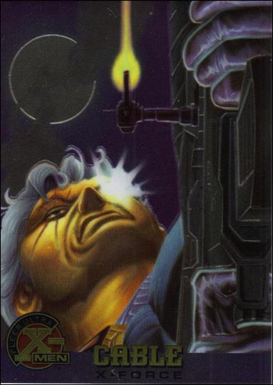 1995 Fleer Ultra X-Men All Chromium (Base Set) 21-A by Fleer