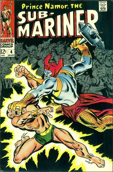Sub-Mariner (1968) 4-A by Marvel