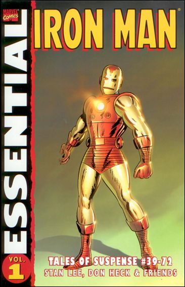 Essential Iron Man 1-C by Marvel