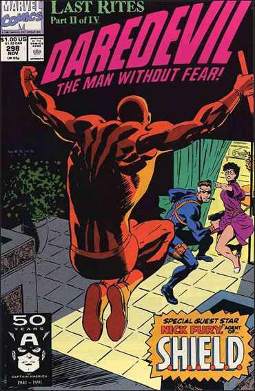 Daredevil (1964) 298-A by Marvel