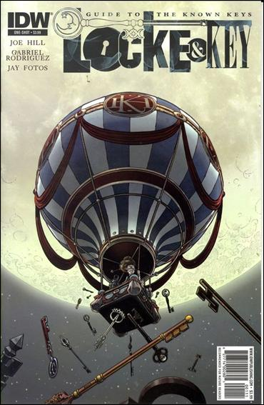 Locke & Key: Guide To Known Keys nn-A by IDW