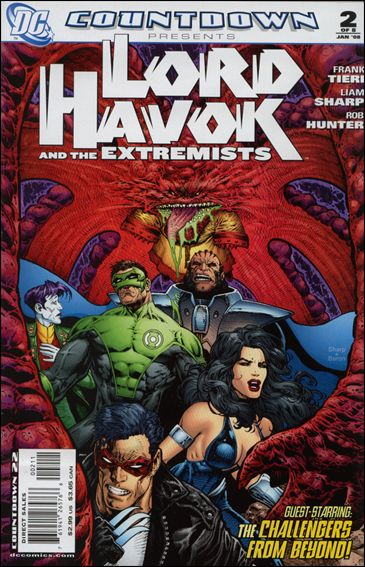 Countdown Presents: Lord Havok & the Extremists 2-A by DC