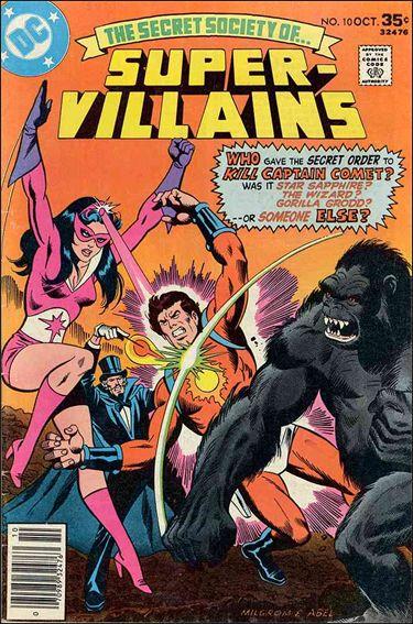 Secret Society of Super-Villains 10-A by DC