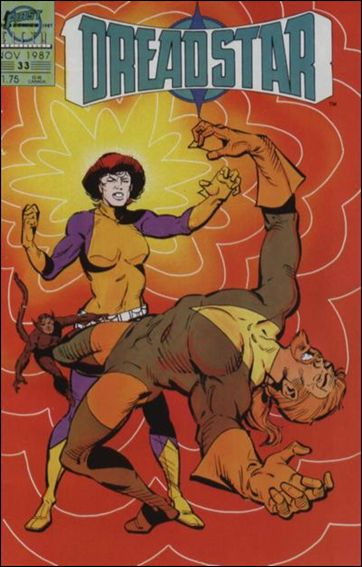 Dreadstar (1982) 33-A by Epic