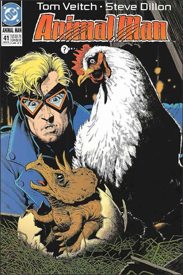 Animal Man (1988) 41-A by Vertigo