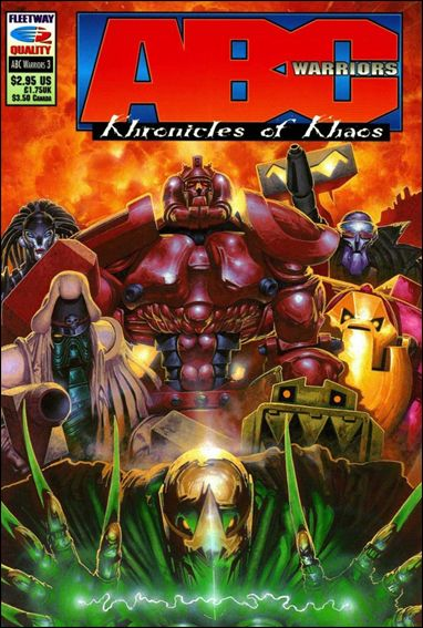 ABC Warriors: Khronicles of Khaos 3-A by Fleetway Quality