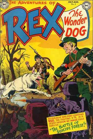 Adventures of Rex the Wonder Dog 4-A by DC