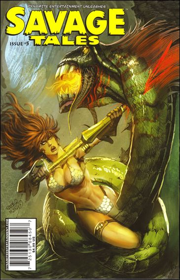 Savage Tales (2007) 5-B by Dynamite Entertainment