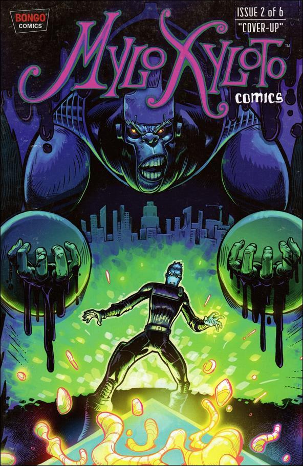 Mylo Xyloto Comics 2-A by Bongo