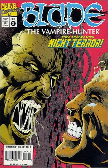 Blade: The Vampire-Hunter 5-A by Marvel