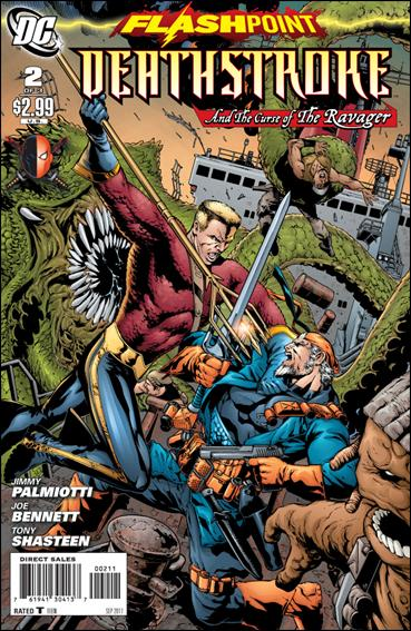 Flashpoint: Deathstroke & the Curse of the Ravager 2-A by DC