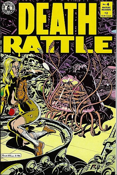 Death Rattle (1985) 4-A by Kitchen Sink