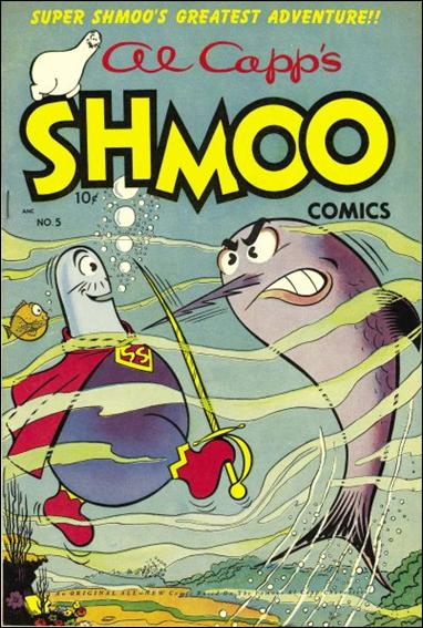 Al Capp's Shmoo Comics 5-A by Toby Press Inc.