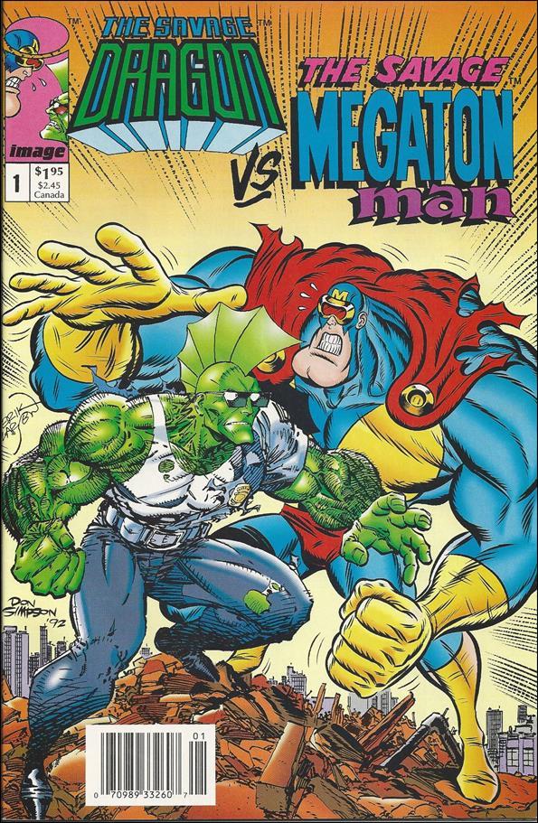Savage Dragon vs the Savage Megaton Man 1-C by Image