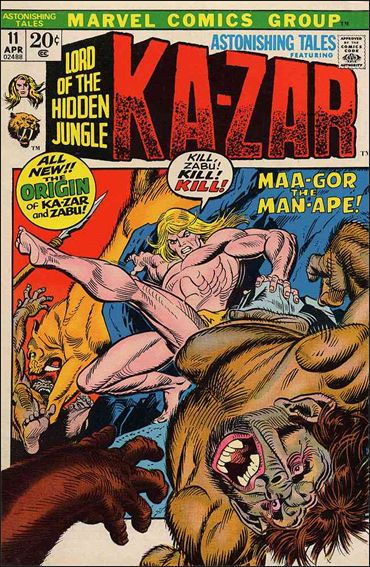 Astonishing Tales (1970) 11-A by Marvel