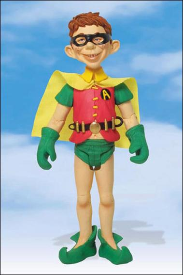 Just-Us League of Stupid Heroes Alfred E. Neuman as Robin by DC Direct