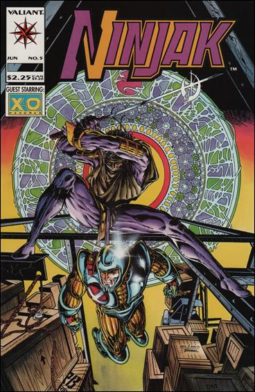 Ninjak (1994) 5-A by Valiant