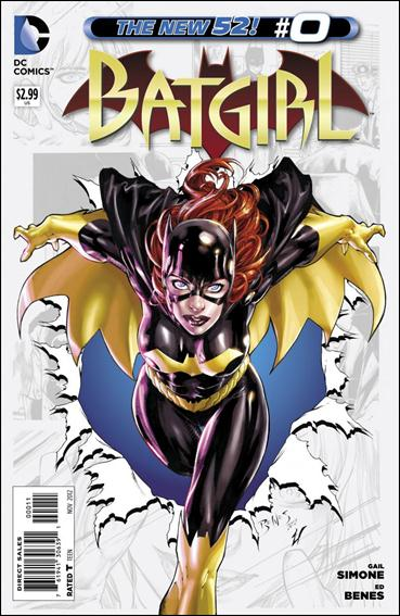 Batgirl (2011) 0-A by DC