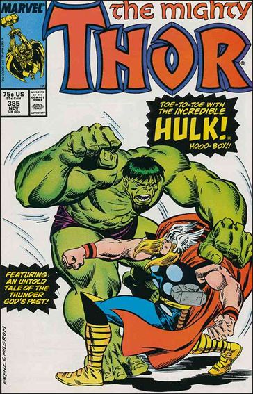 Thor (1966) 385-A by Marvel