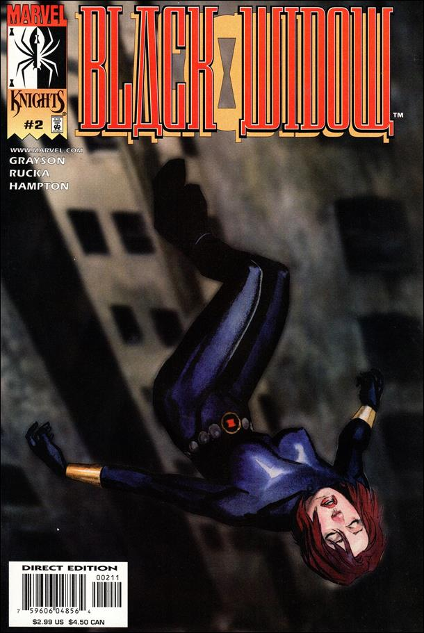Black Widow (2001) 2-A by Marvel