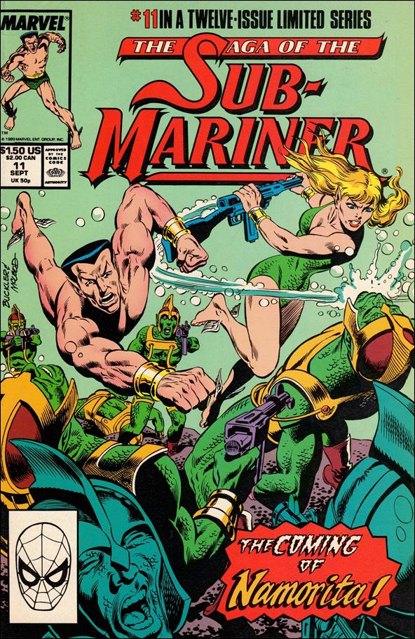 Saga of the Sub-Mariner 11-A by Marvel