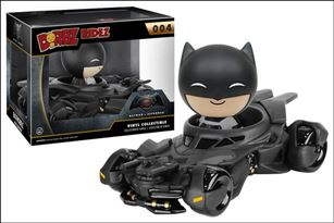Dorbz Ridez Batman with Batmobile