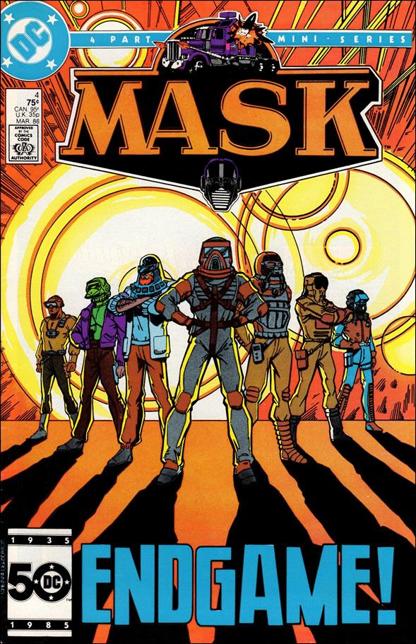 Mask (1985) 4-A by DC