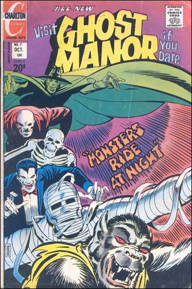 Ghost Manor (1971) 7-A by Charlton