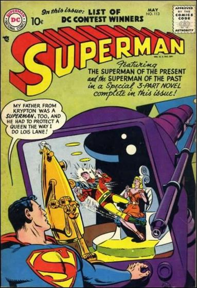 Superman (1939) 113-A by DC