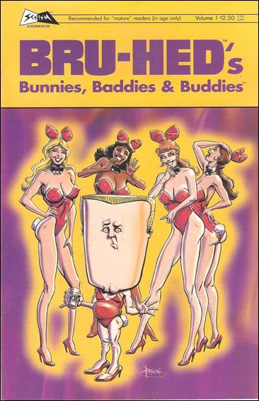 Bru-Hed's Bunnies, Baddies & Buddies 1-A by Schism Comics
