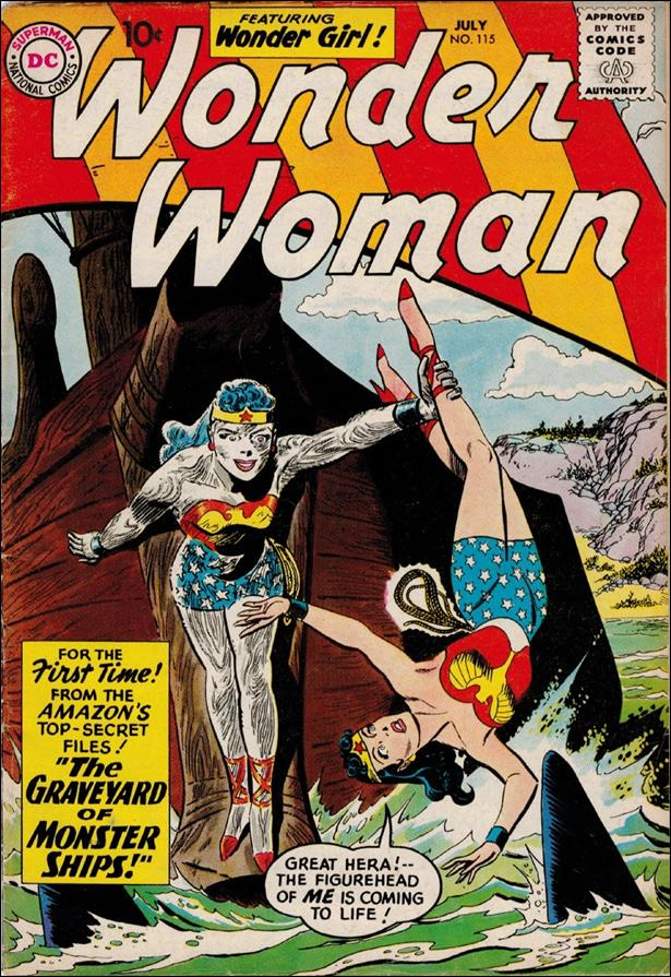 Wonder Woman (1942) 115-A by DC