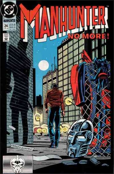 Manhunter (1988) 24-A by DC