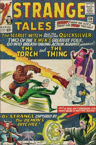 Strange Tales (1951) 128-A by Marvel