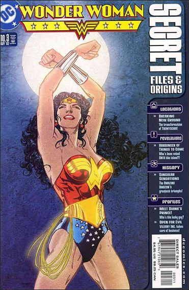Wonder Woman: Secret Files and Origins 3-A by DC