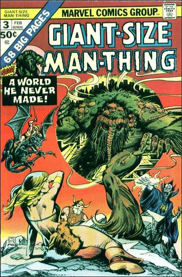 Giant-Size Man-Thing 3-A by Marvel