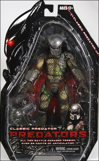 Predator Classic Predator (Battle Damaged) by NECA
