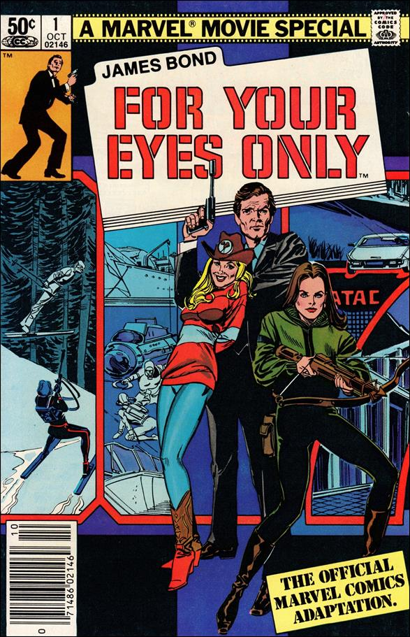 James Bond For Your Eyes Only 1-A by Marvel