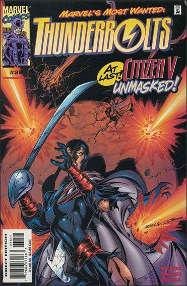 Thunderbolts (1997) 38-A by Marvel
