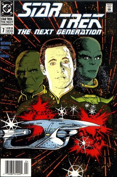 Star Trek: The Next Generation (1989) 7-A by DC