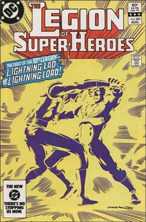 Legion of Super-Heroes (1980) 302-A