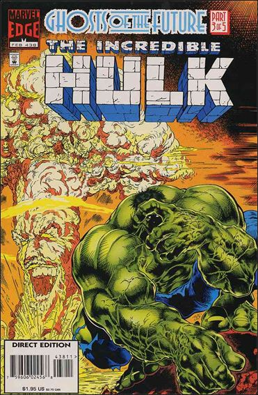Incredible Hulk (1968) 438-A by Marvel