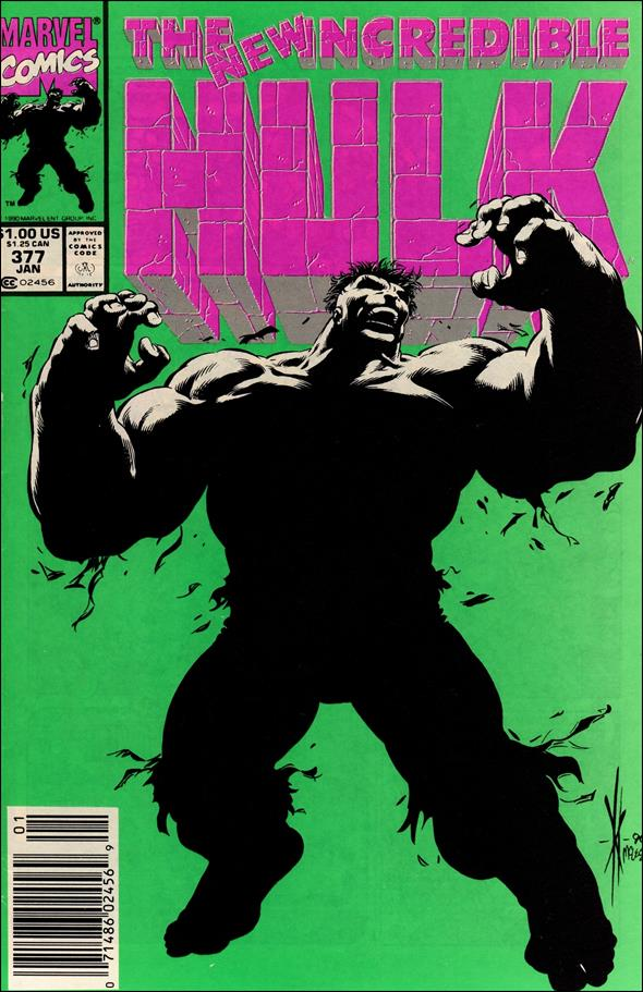 Incredible Hulk (1968) 377-A by Marvel