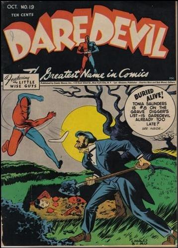 Daredevil (1941) 19-A by Lev Gleason Productions