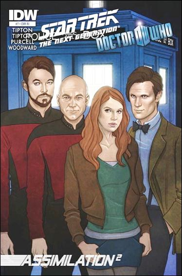 Star Trek: The Next Generation / Doctor Who: Assimilation2 7-B by IDW