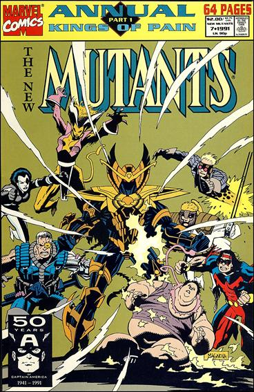 New Mutants Annual 7-A by Marvel