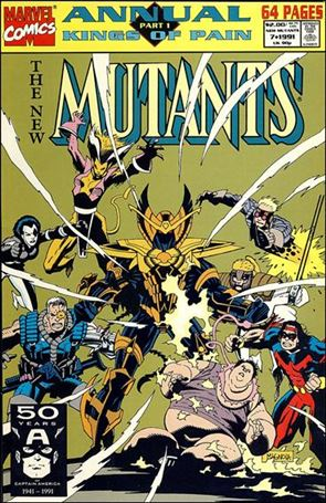 New Mutants Annual 7-A