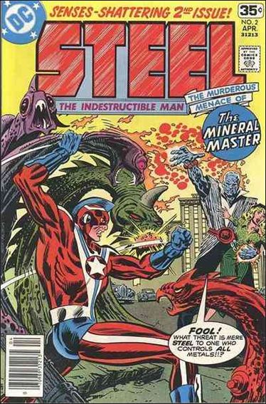 Steel, the Indestructible Man 2-A by DC