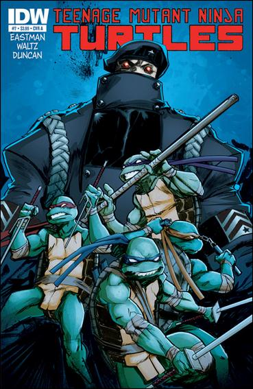 Teenage Mutant Ninja Turtles (2011) 7-A by IDW